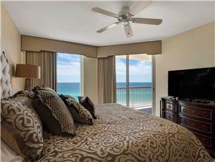 Master Bedroom with King Bed and Stunning View
