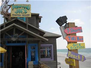 Pompano Joe's Restaurant is walking distance from the condo-Great for Live Music, A Fish Sandwich, and a Mixed Drink!
