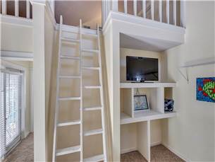 Bunk Bed TV and Loft