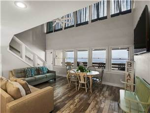 Spacious 2nd Floor Living Room with Balcony