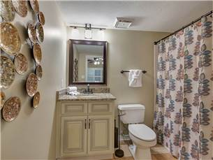 Bathroom with Access from Hallway