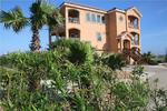 Mustang Island gulf front vacation home with 5 bedrooms and pool sleeps 16
