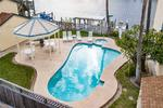 Corpus Christi 1 bedroom condo rental on canal with boat slip and community pool