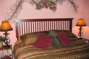 Guest Bedroom with King Bed.