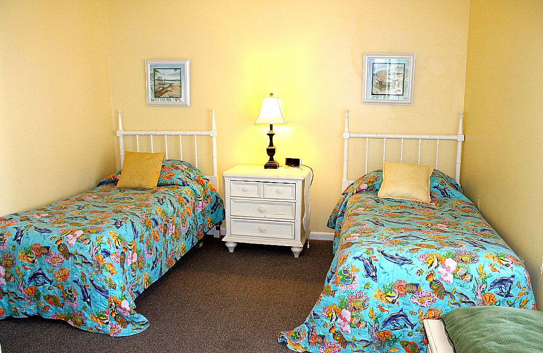 2nd Guest Bedroom w/ twin beds