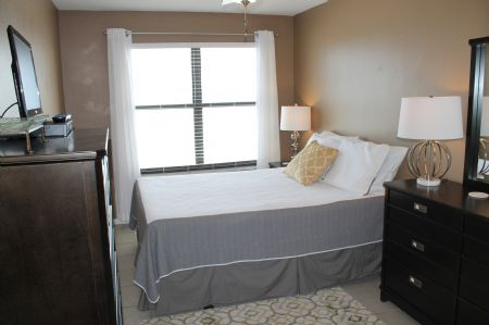 Master Bedroom with a Queen & Gulf Views