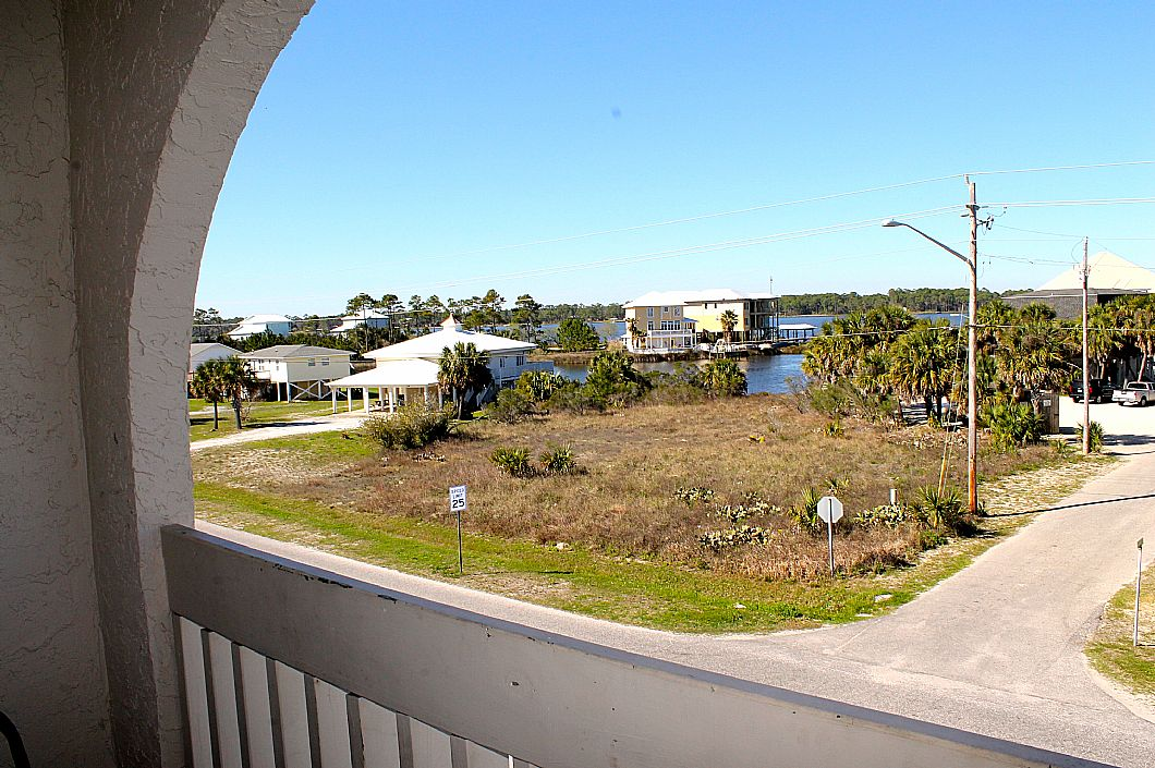 Check out this awesome Little Lagoon balcony view