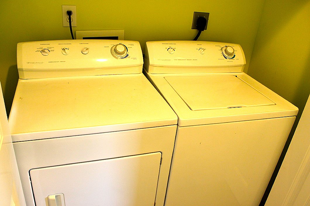 Washer & Dryer in house