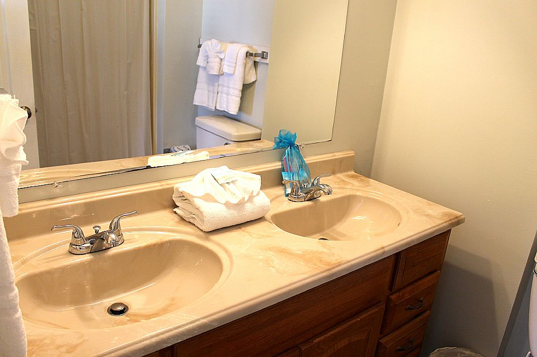 Vanity in 2nd floor bathroom