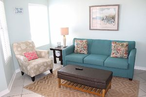 Living Room includes a queen sleeper sofa