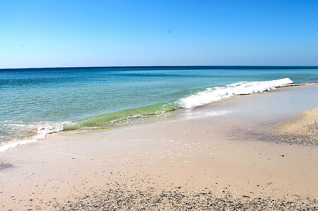 White sandy shores & crystal waters await you!