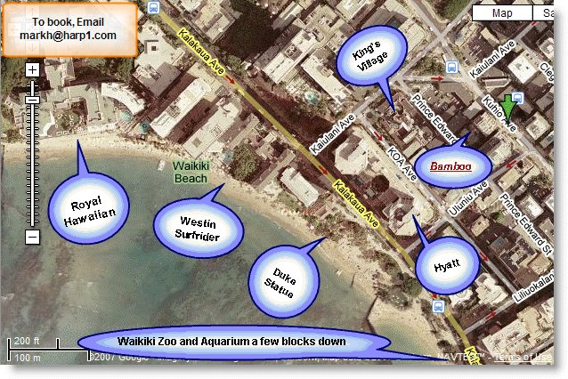 The Map Shows How Ideally Located Bamboo Is It S A Very Short Walk To