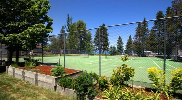 Lakeland Village tennis courts