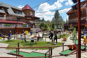 Putt-putt golf in the summer