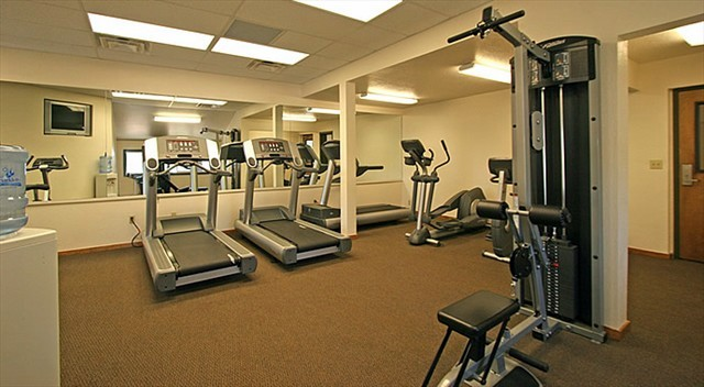 Lakeland Village fitness room