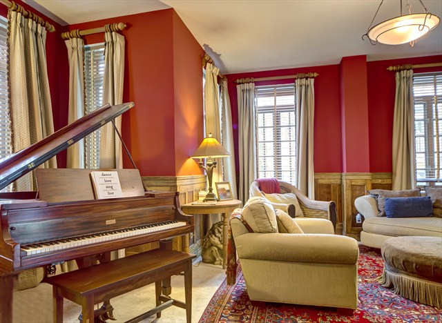 Parlor with Baby Grand