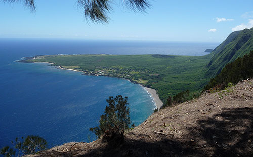 Kalaupapa Lookout in Kalae