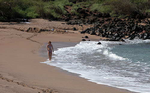Dixie beach is a short drive from the resort