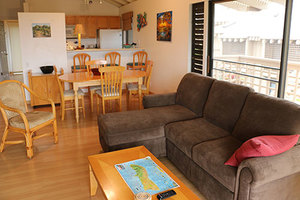 Living room from lanai