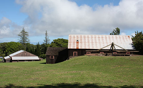 The Meyer Sugarmill is located in Kalae