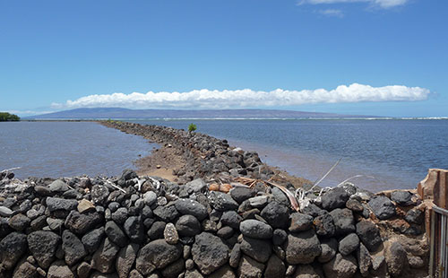 Molokai is known for it's many fishponds