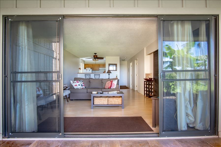 View into Unit from Lanai