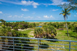 Little Lido Beach House - Sarasota FL - Deck View - Beach House Real Estate