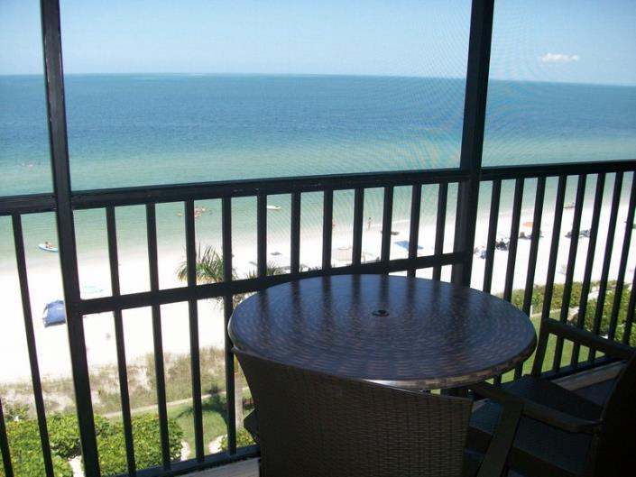 Florida beach front 2 bedroom condo
