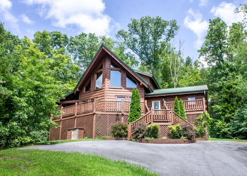A Rocky Top Escape 2 Bedroom Vacation Log Cabin Rental Sevierville