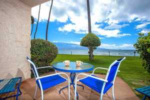 Maui Oceanfront condo rental ground floor for easy access