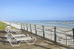 Ocean Front condo rental in New Smyrna Beach, sleeps 6