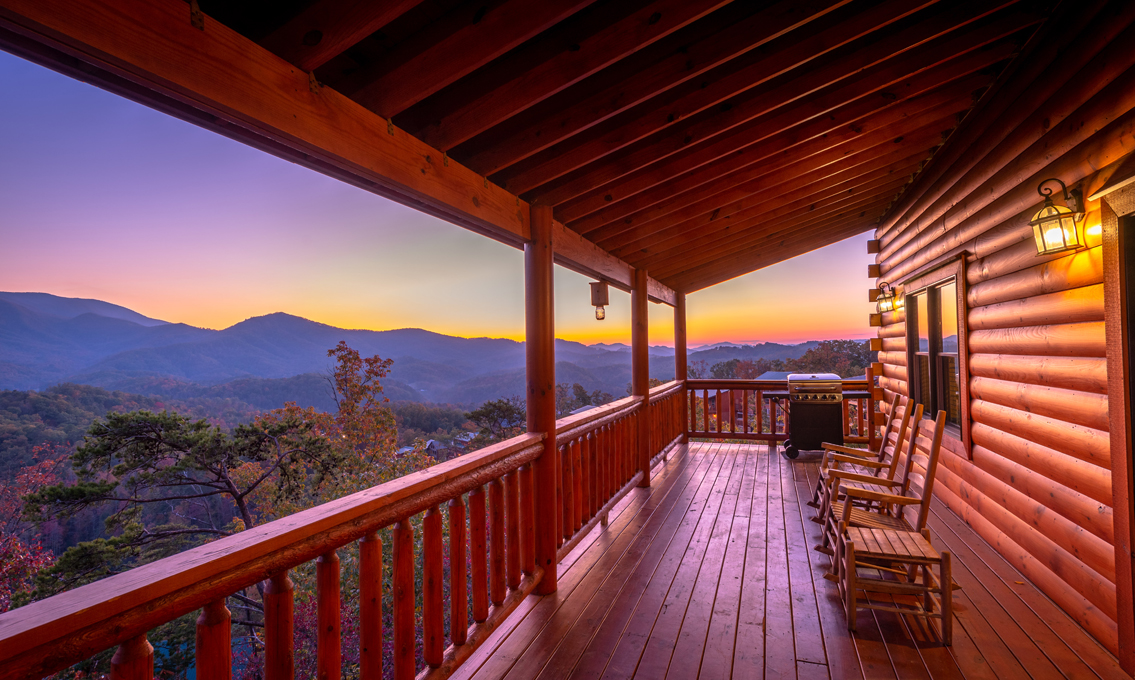 Beavers Treehouse Mountain View 4 Bedroom Vacation Cabin Rental Pigeon Forge Tn 140546 Find Rentals
