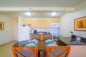 Full Kitchens to prepare your favorite Meals...Your own Waikiki Condo rental 'home away from home""