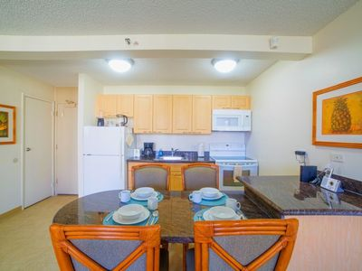 """Full Kitchens to prepare your favorite Meals...Your own Waikiki Condo rental 'home away from home"""""""