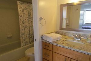 Comfy baths....soak in the tub from your own Oahu Condo rental