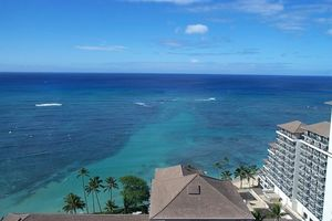 Ideal Central Location in Waikiki, steps the Beach.  Nothing like your own Hawaii Vacation Rental.
