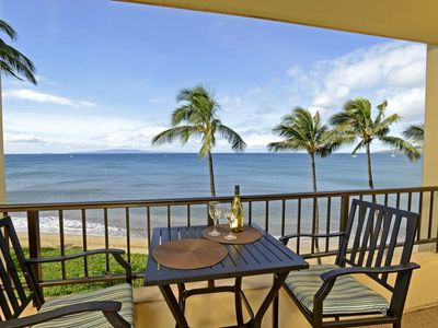 Great Oceanviews...your own Private Lanai. Listen to the surf, own Maui Condo Rental
