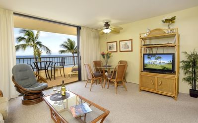 Relax Island-Style in your Spacious Living Room In Maui..with own Hawaii Condo Rental