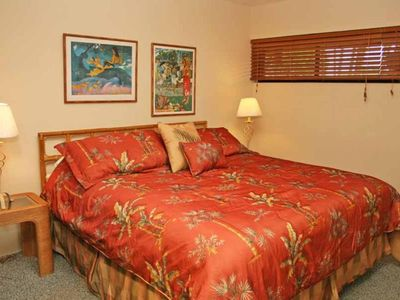 Comfortable King Bedrooms in Hawaii Maui Condo Rental