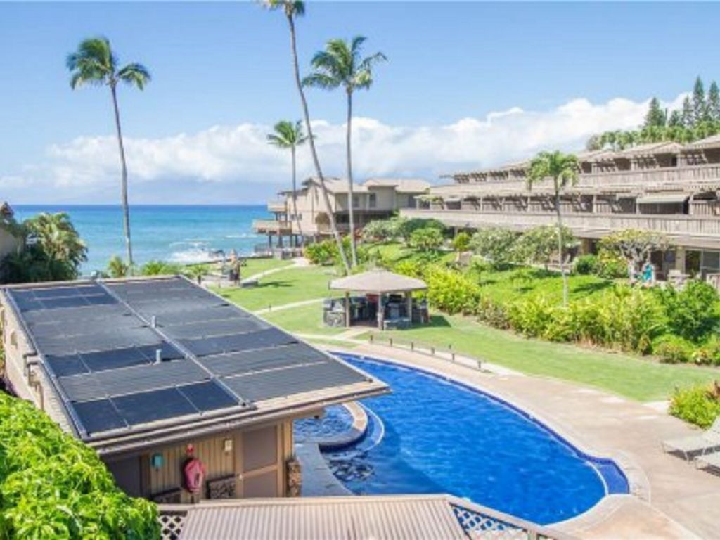 Beautiful Oceanview Pool...cool off after enjoying the magical sights of Maui.