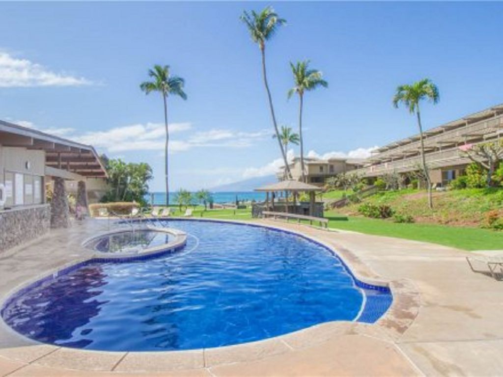 Our Oceanview pool welcomes you to enjoy..from your own Maui Condo