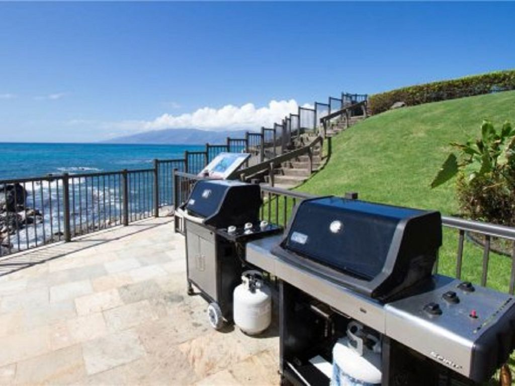 Grill your Favorite Catch on our Bbqs...we have all based covered for your maui vacation
