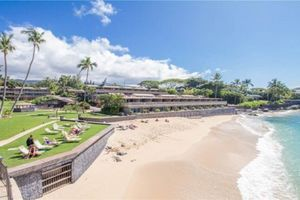 Take a relaxing swim at our  On-site Beach..Your Maui Condo Rental waits