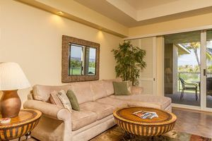 roomy Living rooms...home away from home at your own Big Island Vacation Rental.