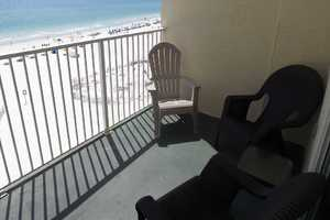 Sit out on the balcony and enjoy listening to the waves crash along the white, sandy beaches of Gulf Shores