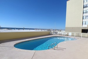 Take a splash in the outdoor pool at Clearwater