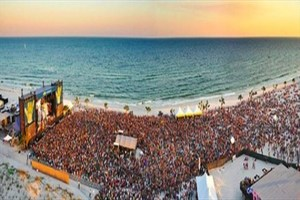 Annual Hangout Festival on the beach in Gulf Shores