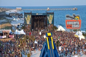The Hangout Music Festival -- annual event in Gulf Shores