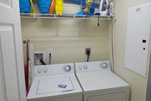 Full-size washer & dryer in the condo for your convenience
