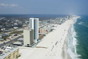 Miles of white, sandy beaches in Gulf Shores